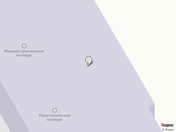 Узловский машиностроительный колледж на карте Узловой