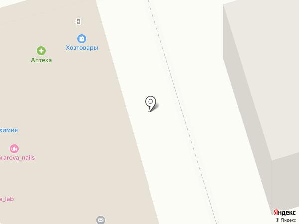 Городская парикмахерская на карте Старой Купавны