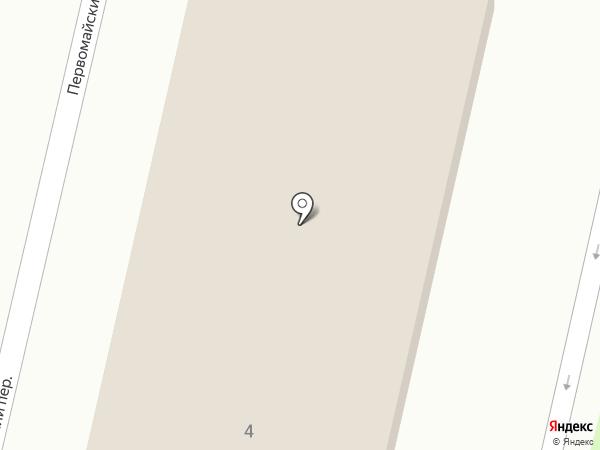 Отдел Военного комиссариата Тульской области по Узловскому району на карте Узловой