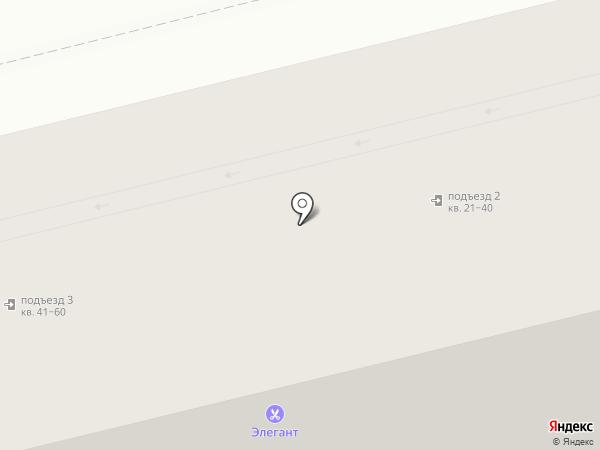 Элегант на карте Узловой