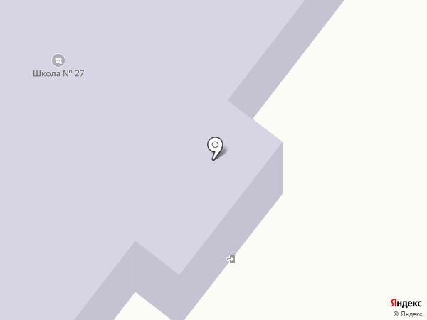 Средняя общеобразовательная школа №27 на карте Кратово