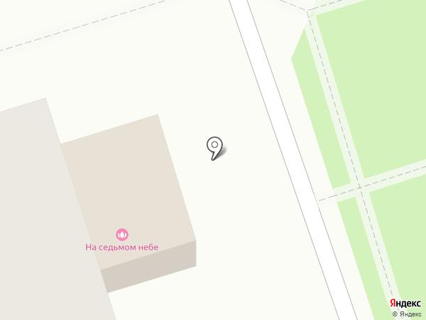 На седьмом небе на карте Старой Купавны