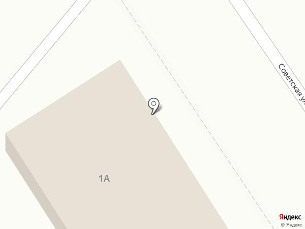 Меридиан на карте Узловой