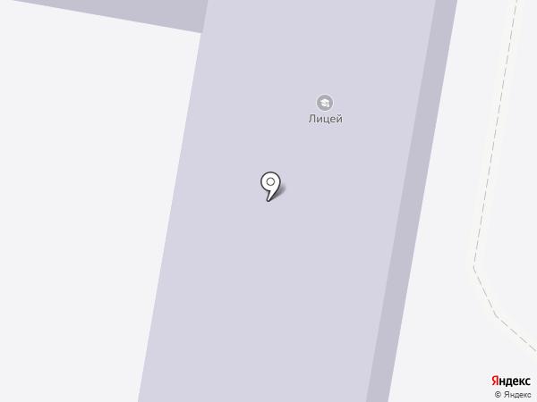 Лицей им. И.И. Федунца на карте Узловой