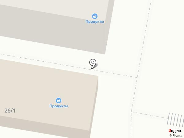 Магазин продуктов на карте Узловой