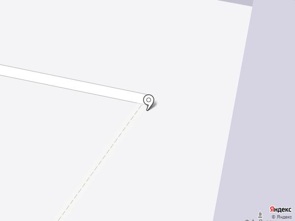 Основная общеобразовательная школа №4 на карте Абинска