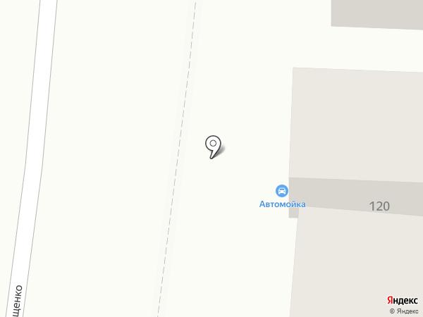Автомойка на карте Абинска