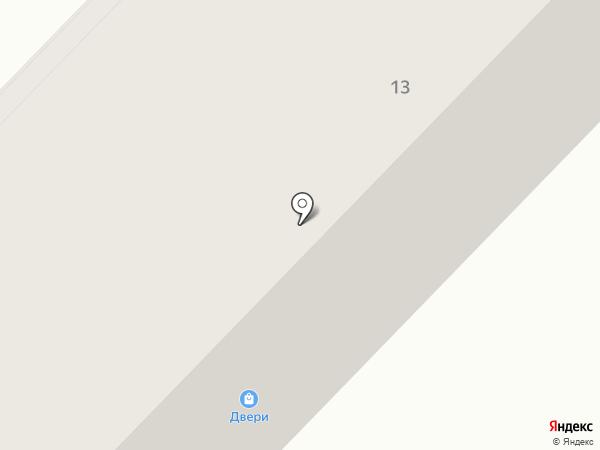 Магазин дверей на карте Узловой