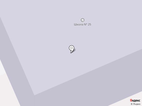 Средняя общеобразовательная школа №25 на карте Старой Купавны