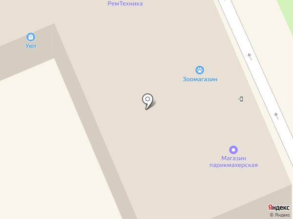 Почтовое отделение №142450 на карте Старой Купавны