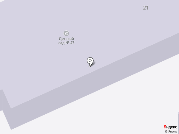 Детский сад №47 на карте Старой Купавны