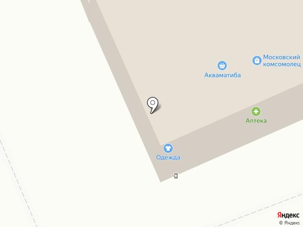 Апрель на карте Старой Купавны