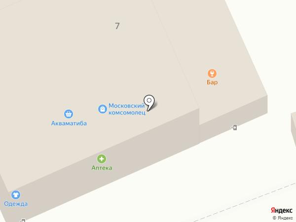 Магазин разливного пива на карте Старой Купавны