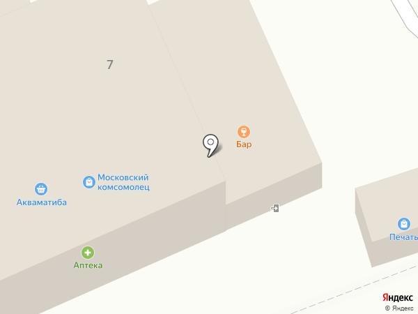 Ветеран на карте Старой Купавны