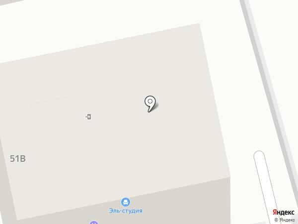 Эль-студия на карте Старой Купавны
