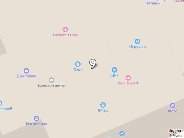 Елена на карте Старой Купавны