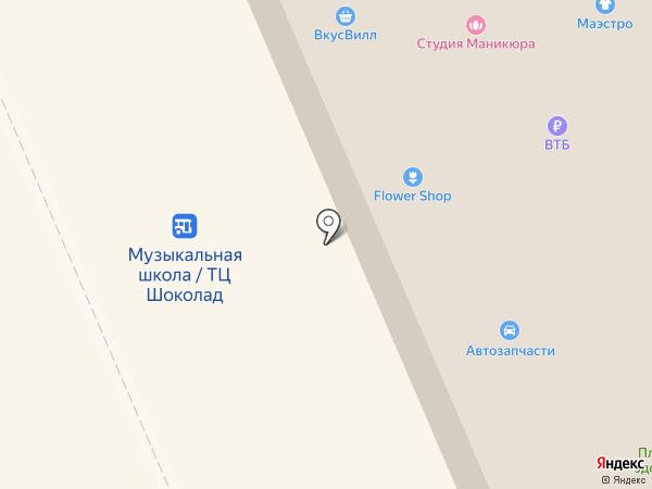 Избёнка на карте Старой Купавны