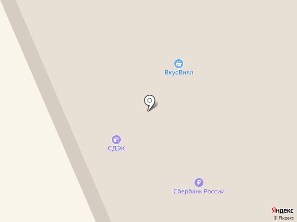 Параллель на карте Старой Купавны