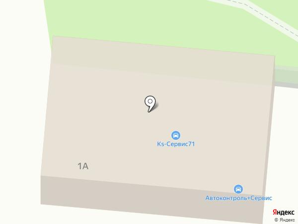 АВТОКОНТРОЛЬ+СЕРВИС на карте Узловой