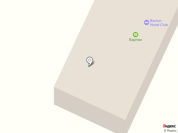 Бартон на карте Нижней Крынки