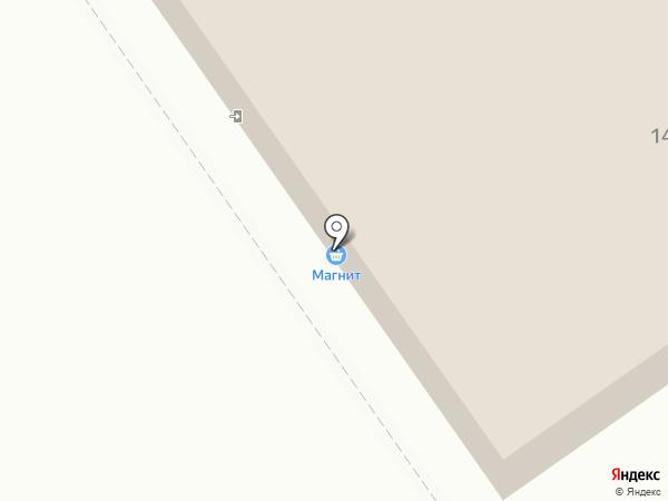 Магнит на карте Лосино-Петровского