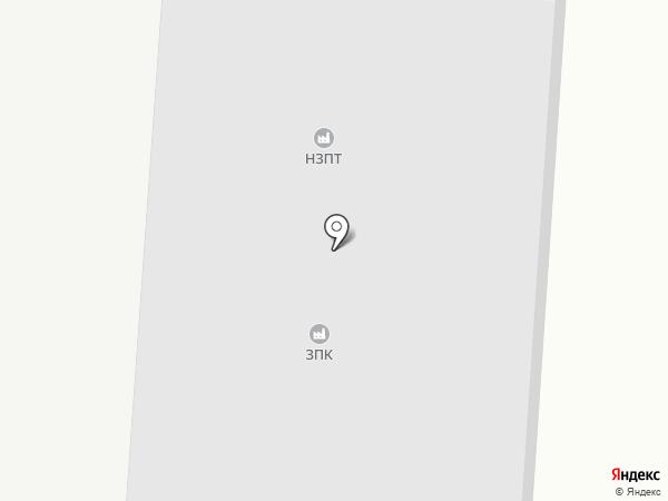 Новомосковский завод полимерных труб на карте Новомосковска