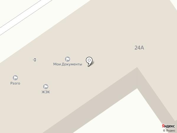 Лосино-Петровский на карте Лосино-Петровского