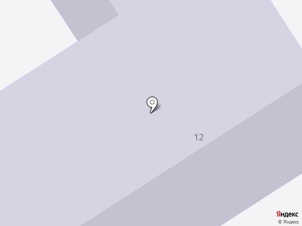 Средняя общеобразовательная школа №4 на карте Лосино-Петровского