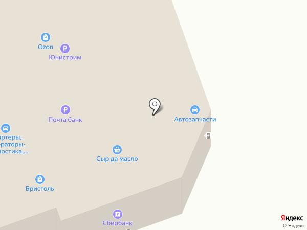 Магазин автозапчастей на карте Лосино-Петровского