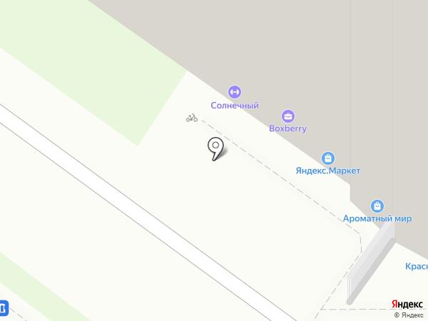 Солнечный на карте Раменского