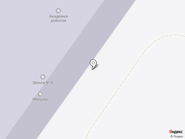 Средняя общеобразовательная школа №6 на карте Раменского