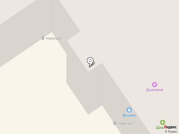 Уютный дом на карте Лосино-Петровского