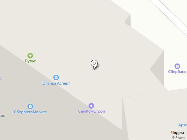 Элекснет на карте Раменского