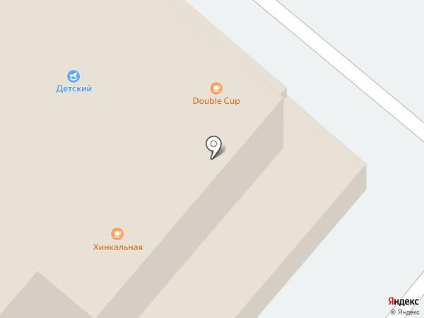 Детский на карте Раменского