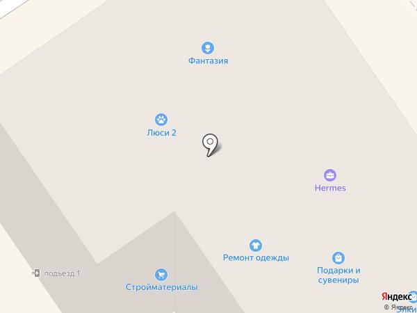 Проф окон на карте Лосино-Петровского