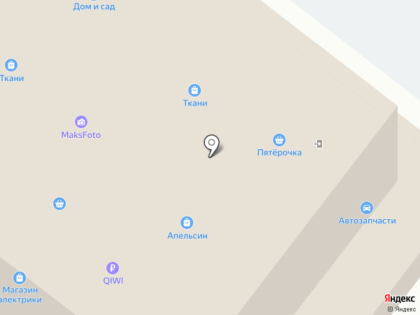 Магазин цветов и подарков на карте Раменского