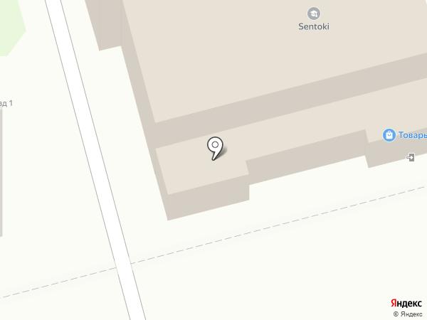 Сладкий дворик на карте Раменского