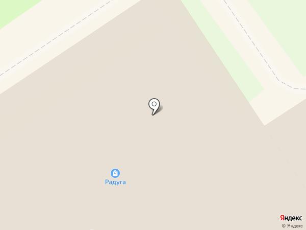 1-й комиссионный на карте Раменского