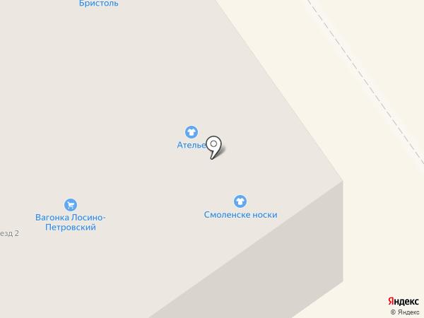 Киоск печатной продукции на карте Лосино-Петровского