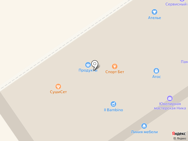 Велес на карте Раменского