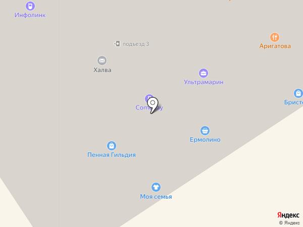 Кристалл-Лефортово на карте Лосино-Петровского