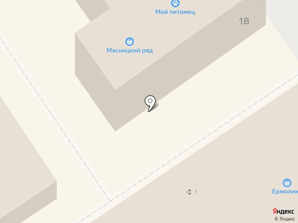Ермолино на карте Раменского