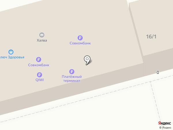 Платежный терминал, МОСКОВСКИЙ КРЕДИТНЫЙ БАНК на карте Раменского