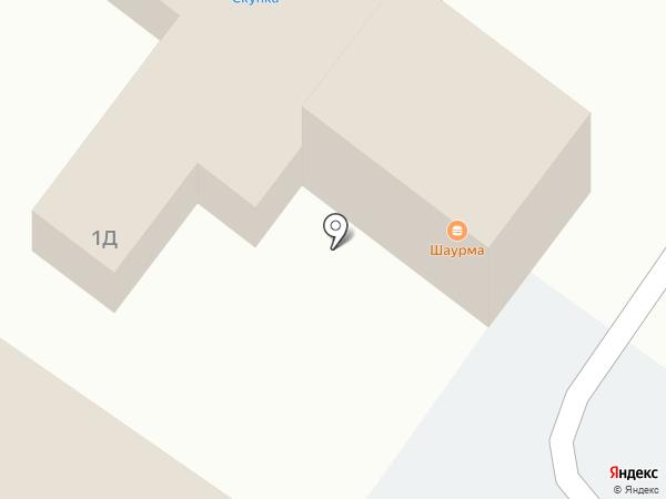 Киоск фастфудной продукции на карте Раменского