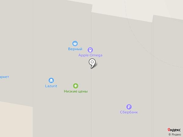 Верный на карте Раменского
