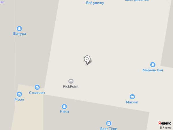 Роникон на карте Раменского