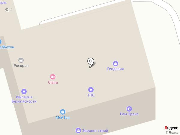 Салон мебели на карте Раменского