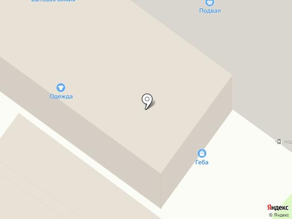 Геба на карте Раменского