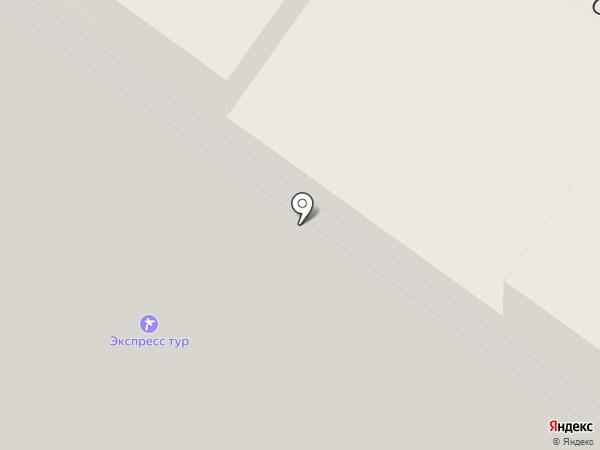 Экспресс Тур на карте Раменского