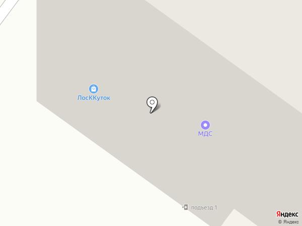 Лоскуток на карте Раменского
